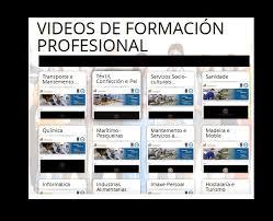 Vídeos ciclos formativos  de Formación Profesional